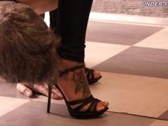 Under-Feet Video: Megan