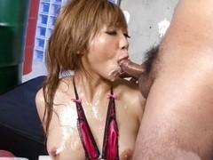 Amazing Japanese slut Hazuki Rui in Hottest JAV uncensored Blowjob clip