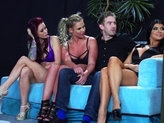 Incredible hardcore orgy full of sucking and pussy fucking