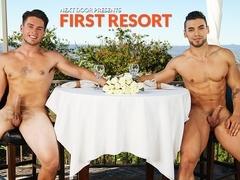 Arad & Jordan Evans in First Resort XXX Video