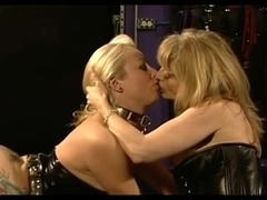 Mature dominatrix tortures her hot slave