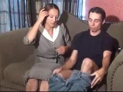 Stepmom Stepson Affair 77 (An Embarrasing Handjob)