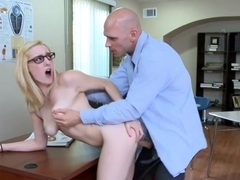 Rylie Richman & Johnny Sins in Naughty Book Worms