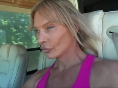 Hottest Amateur Shemale clip with Mature, Outdoor scenes