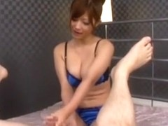 Best Japanese model Haruki Sato in Amazing Big Tits, Handjobs JAV clip