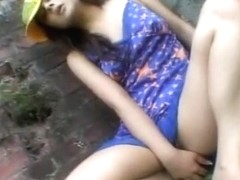 Horny Japanese whore Kaede Fujisaki in Exotic Softcore, Outdoor JAV clip
