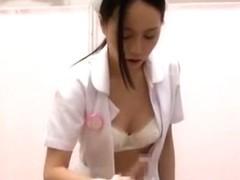 Incredible Japanese model Leo Saionji, Nozomi Hara in Horny Nurse/Naasu JAV video