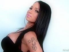 Delicious Latina sucks and fucks hard