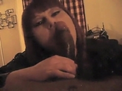 Fabulous homemade shemale video with POV, Blowjob scenes