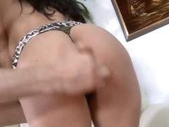 Voluptuous brunette Sophia Lomeli gets nailed by Mark Zane
