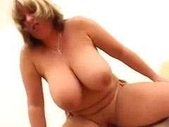 Breasty Golden-Haired Older Bounces (British)