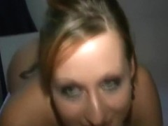 mother I'd like to fuck gives me a sloppy oral