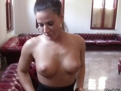 ###ary sucks and bonks stranger in an office POV