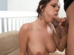 Tessa Taylor Inhales The Cock!