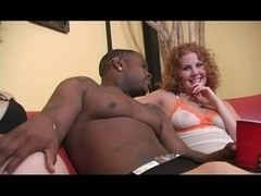 Preggo Shares Bbc with hairy redhead cherry