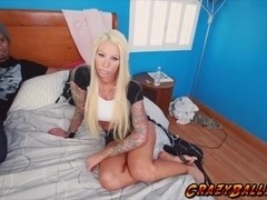 Crazy chick Lolly Ink loves dick