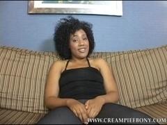 CreampieEbony Video: Daiquiri