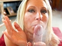 Devon Lee & Marcus London in Smoky Blowjob Video