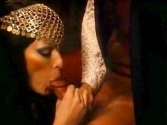 Annette Haven, John Leslie in retro porn video with awesome blowjob