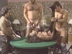Dominique Simone, Derrick Lane, Joey Silvera in classic sex scene