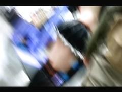 Ryuko Matio Kill La Kill Cosplay Upskirt thong (face)