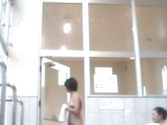 Japanese Bath House Hidden Cam!
