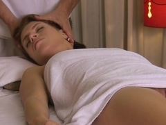 Incredible pornstars Christine Diamond, George in Amazing Redhead, Massage sex scene