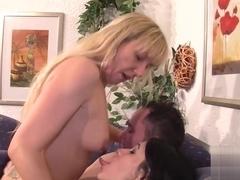 Incredible pornstar in Best Stockings, MILF porn video