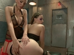 Best fetish, anal porn movie with hottest pornstars Katie Summers and Chanel Preston from Everythingbutt
