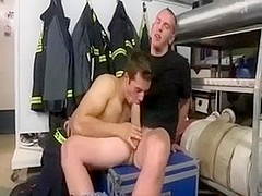 Three nasty Germany Firefighter