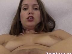 Lelu Love-Closeup Asshole Puckering Pussy Spreading
