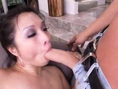 Heavy chested asian Alexis Lee get nasty