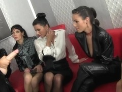 Bukkakke loving lesbian bitches cumdrenched