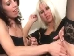 Specific fisting with blonde bitch