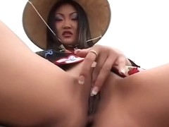 Hottest pornstar Lucy Lee in best facial, gaping adult video