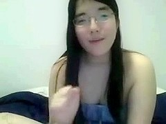 Chubby Asian Chick With Pierced Nipples On Cam
