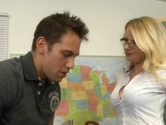 Anita Blue & Johnny Castle in My First Sex Teacher