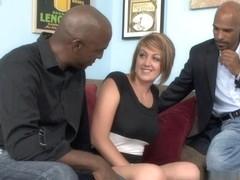Kasmine Cash,Lee Bang,Justin Long in My New Black Stepdaddy #09, Scene #03