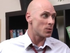 Johnny Sins got used to big-tittied clients