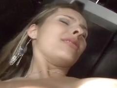 Sexy Brazilian, Bianca Mello, Gets Nailed Hard by a Big Black Cock!
