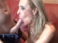 Golden-Haired Mother I'd Like To Fuck Fucking for a facial
