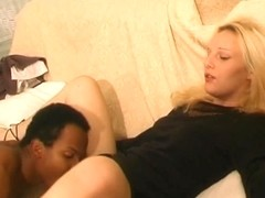 Sweet blondes have their assholes stretched and drilled, and share a load