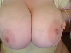 BBW  with perfect huge tits