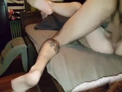 Impregnating my wife while she cums all over my cock