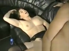 pounded by a big black cock