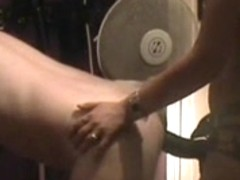 Fetish mistress fucking her slave with a strapon