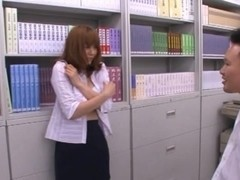 Yuma Asami Female Asian teacher is fucked hard