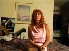 Older Redhead Trudy True Sucks and Copulates