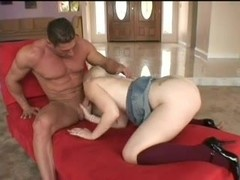 Young Charlotte Stokley gives a BJ
