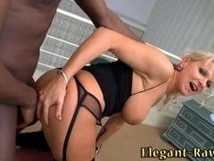 Euroslut anal cock bounce